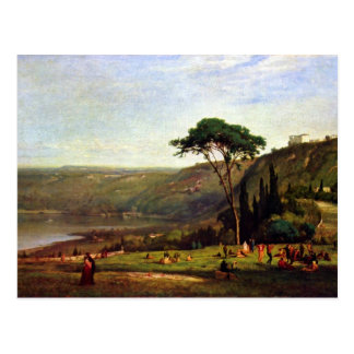 George Inness - Albanersee Postcard