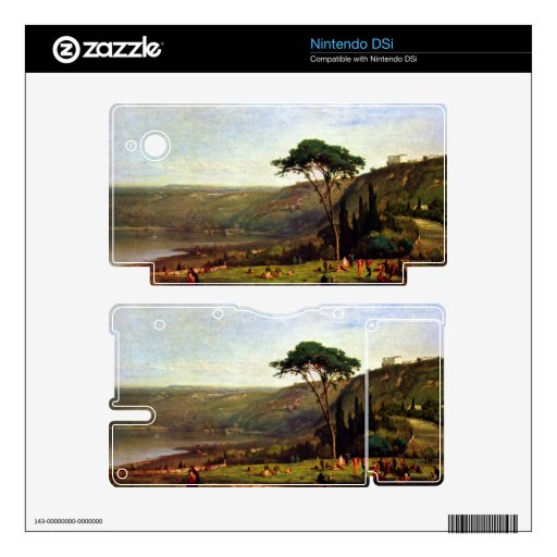 George Inness - Albanersee Skins For DSi