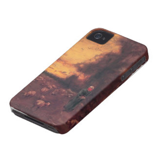 George Inness: End of Day iPhone 4 Cover