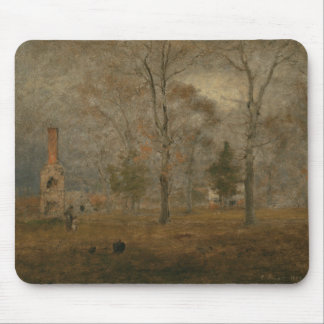 George Inness - Gray Day, Goochland Mouse Pad