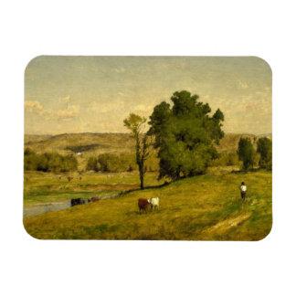 George Inness - Landscape Magnet