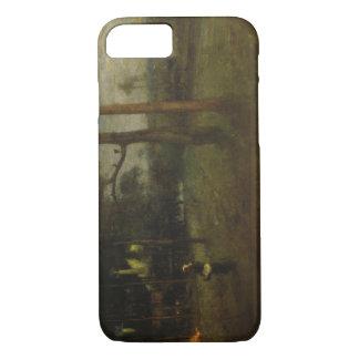 George Inness - Moonlight, Tarpon Springs iPhone 8/7 Case