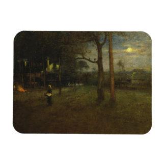 George Inness - Moonlight, Tarpon Springs Magnet