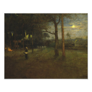 George Inness - Moonlight, Tarpon Springs Photo Print