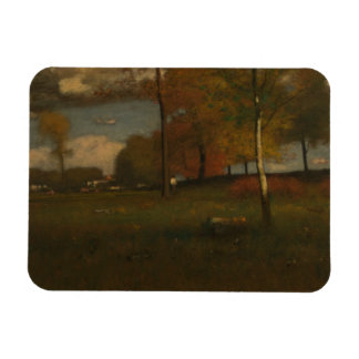 George Inness - Near the Village, October Magnet