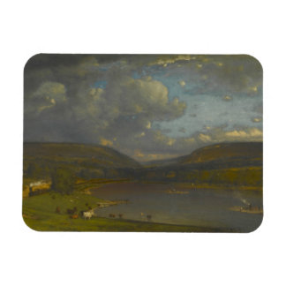 George Inness - On the Delaware River Magnet