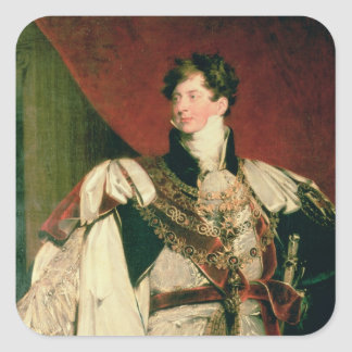 George IV Square Sticker