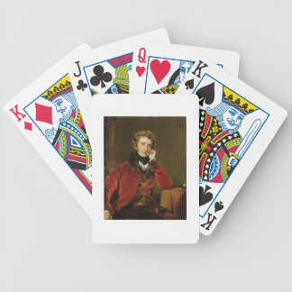 George James Welbore Agar-Ellis, later 1st Lord Do Bicycle Playing Cards
