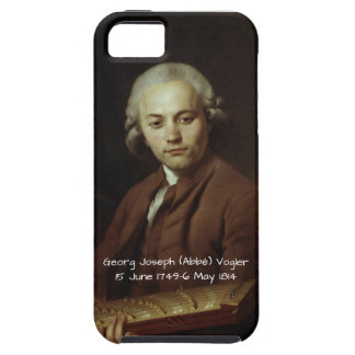 George Joseph (Abbe) Vogler iPhone SE/5/5s Case