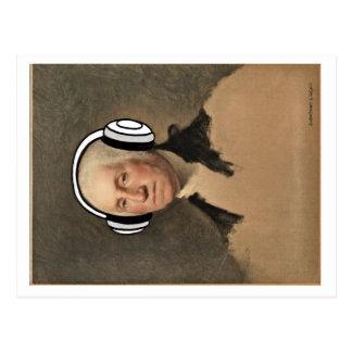 George Keepin it Real Postcard