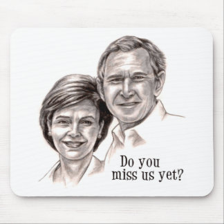 George & Laura Mouse Pad