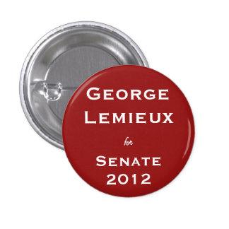 George Lemieux para el senado Pins