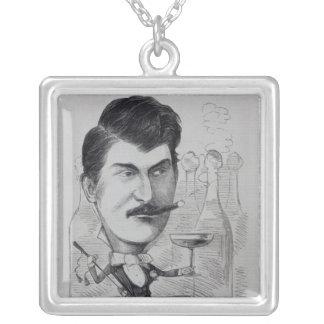 George Leybourne Collar Plateado