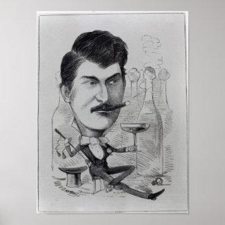 George Leybourne Poster