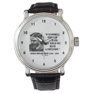 George los economistas de B. Shaw If puso no la Reloj
