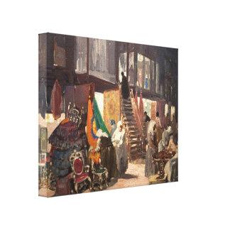 George Luks- Allen Street Gallery Wrap Canvas