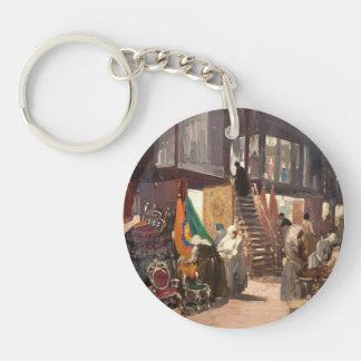 George Luks- Allen Street Keychains