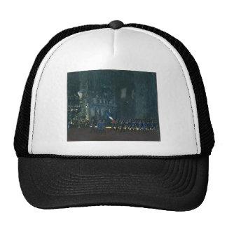 George Luks- Blue Devils on Fifth Avenue Trucker Hats