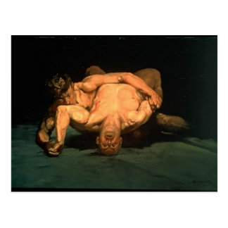 George Luks- The Wrestlers Post Cards