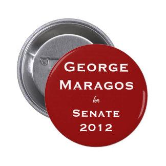 George Maragos para el botón del senado Pin