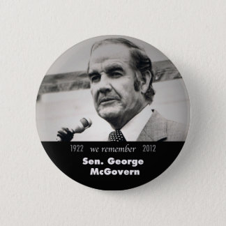 George McGovern Memorial Button