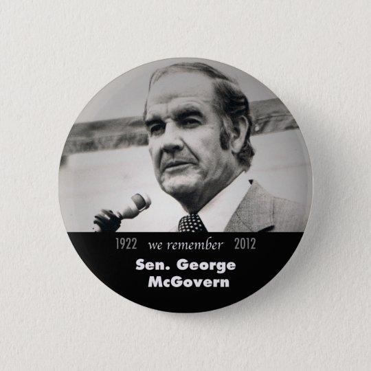 George McGovern Memorial Button