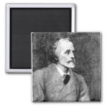 George Meredith 2 Inch Square Magnet