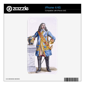 George Monke (1608-70) Duke of Albermarle from 'Re Skins For iPhone 4S