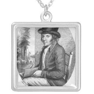 George Morland, grabado por G.Scott, 1805 Collar Plateado