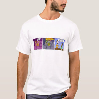 """George"" Movie Theater Strip T-Shirt"