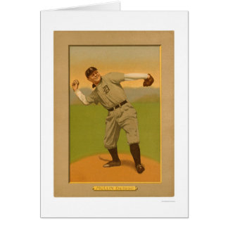 George Mullin Tigers Baseball 1911 Greeting Card