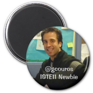 george newbie pic, @gcourosISTE11 Newbie Magnet