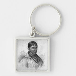 George Nichols, engraved by Percy Roberts Keychain