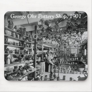 George Ohr Pottery Shop, 1901 Mouse Pad