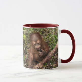 George Orangutan Mud Pies Dirty Mouth Mug