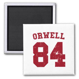 George Orwell 1984 Jersey Magnet
