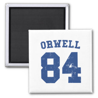 George Orwell 1984 Jersey Magnet