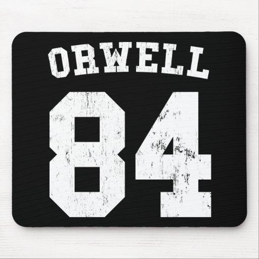 George Orwell 1984 Jersey Mousepad