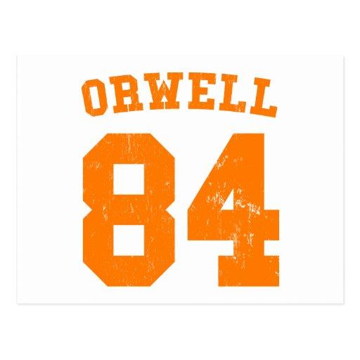 George Orwell 1984 Jersey Postcard