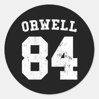 George Orwell 1984 Jersey Sticker