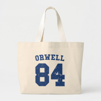 George Orwell 1984 Jersey Tote Bag