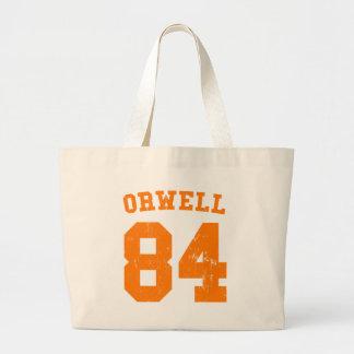 George Orwell 1984 Jersey Tote Bag
