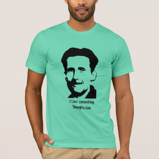 "George Orwell ""1984"" Quote T-Shirt - Customized"