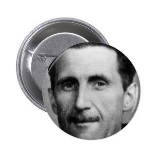 george orwell 2 inch round button
