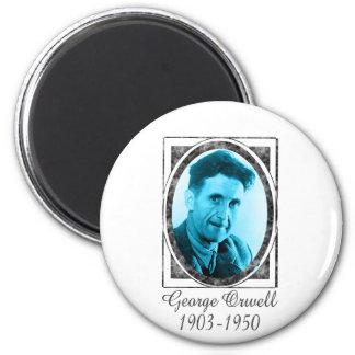 George Orwell 2 Inch Round Magnet