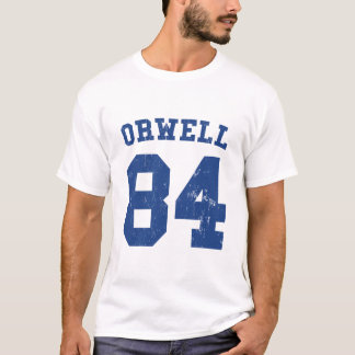George Orwell 84 1984 jerséis Playera