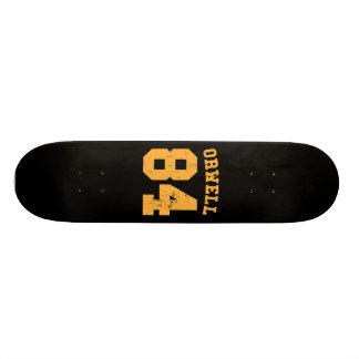 George Orwell 84 1984 Jersey Skate Decks