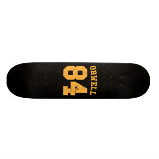 George Orwell 84 1984 Jersey Skateboard Deck