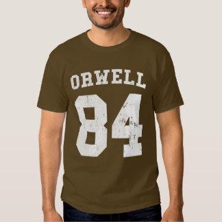 George Orwell 84 1984 jersey T Shirt