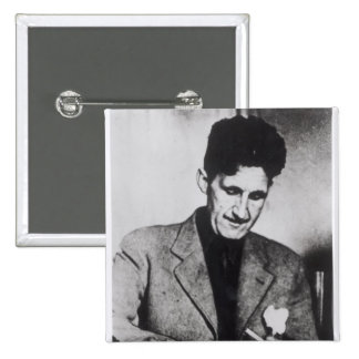 George Orwell Pinback Buttons